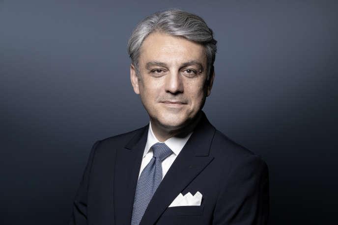 Le directeur général de Renault, Luca de Meo, à Paris, le 7 juillet.