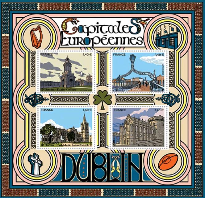 « Capitales européennes. Dublin», parChristophe Laborde-Balen (2020).