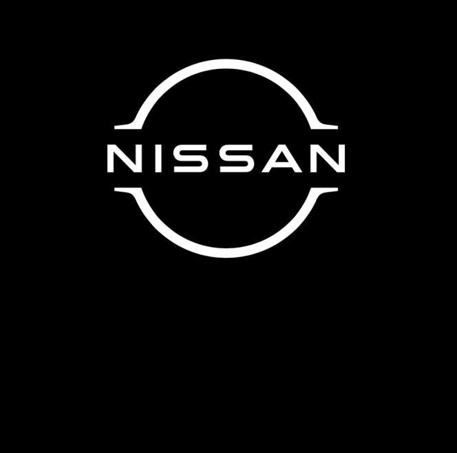 Le nouveau logo de Nissan.
