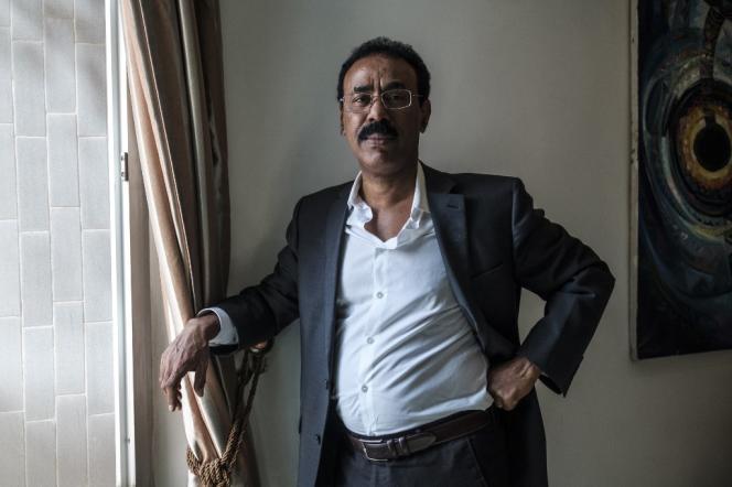 Wondimu Asamnew, vétéran de la diplomatie éthiopienne, à Mekele, la capitale de la région du Tigré, le 7 septembre 2020.