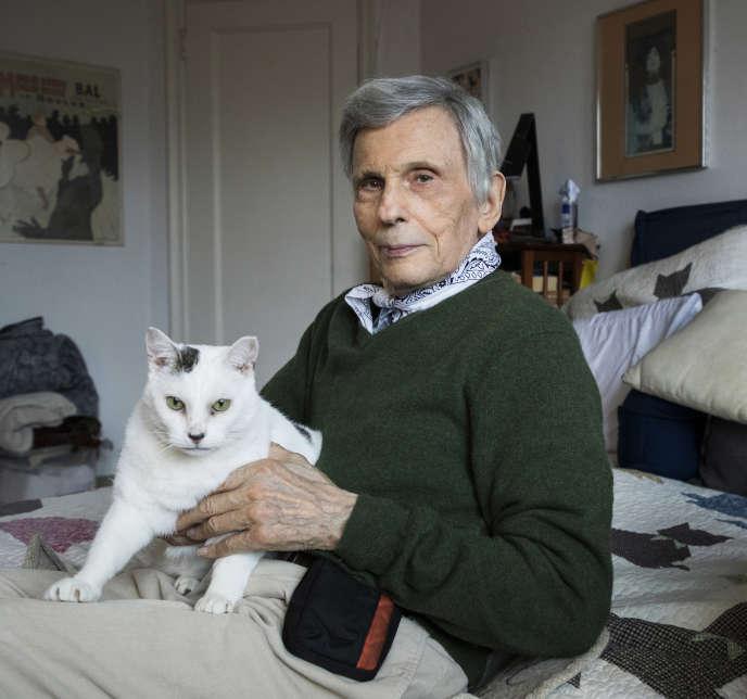 L'écrivainaméricain Jerome Charyn, à New York, en 2020.