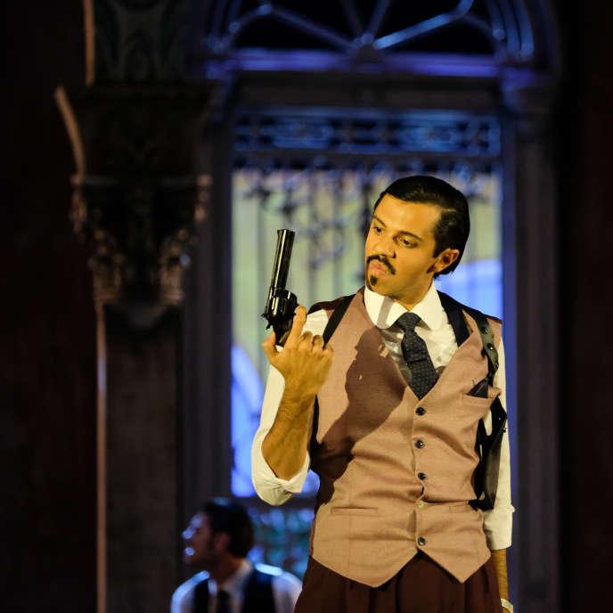 Bruno de Sa incarne le prince espagnol Berardo dans l'opéra de Nicola Porpora, «Carlo il Calvo».