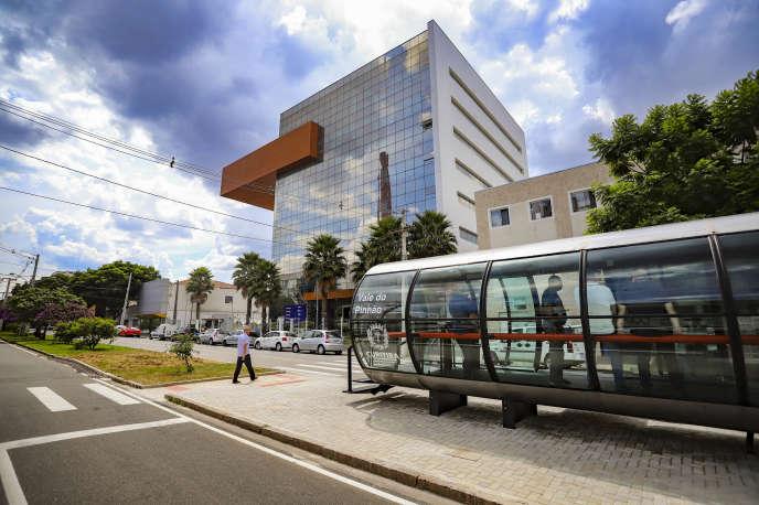 Vale do Pinhão est un vaste projet visant à placer l'innovation au cœur de la vie des habuitants de Curitiba.