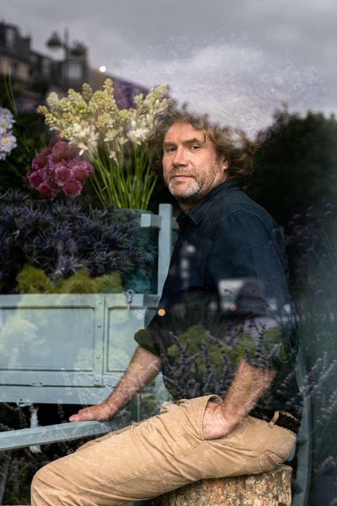 Le fleuriste Stéphane Chapelle.
