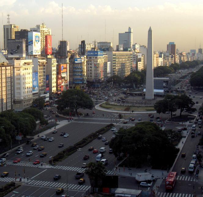 L'avenue du 9-Juillet à Buenos Aires.