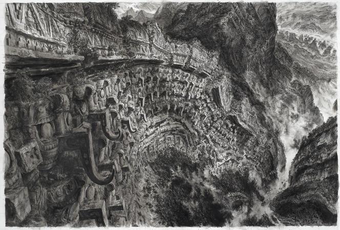 «Ruines plissées»(2014), deLaurent Gapaillard.