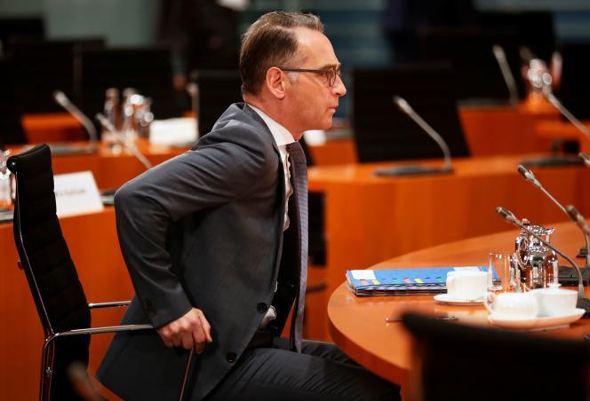 Le ministre allemand des affaires étrangères, Heiko Maas, le 9 septembre à Berlin.