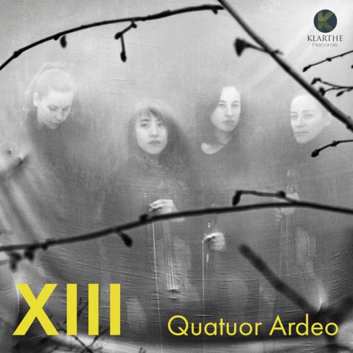 Pochette de l'album«XIII», duQuatuor Ardeo.