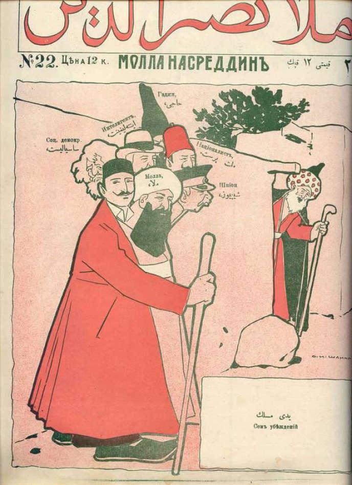Le périodique «Molla Nasraddin» n° 22, publié en 1910.