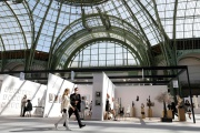 La foire Art Paris au Grand Palais, le 9 septembre.