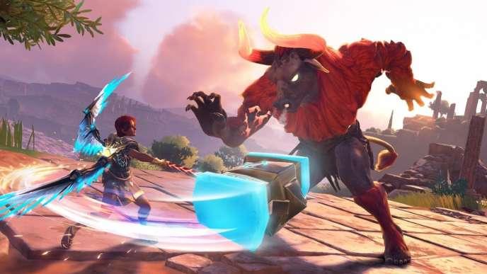Fenyx sera l'héroïne de« Immortals Fenyx Rising», et massacrera à partir du 3décembre des créatures menaçantes à grands coups de marteau bien placés.