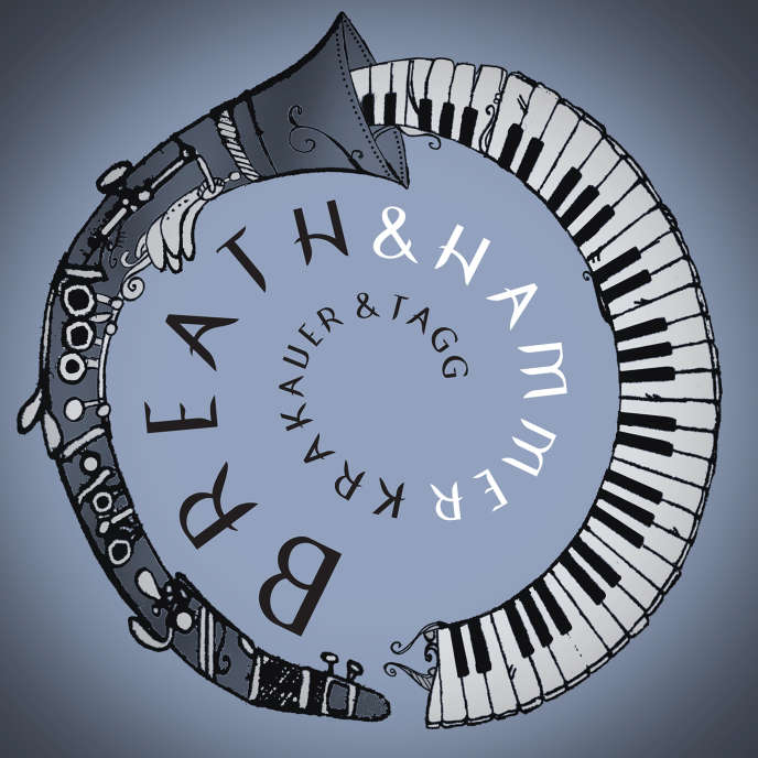 Pochette de l'album«Breath & Hammer», de David Krakauer & Kathleen Tagg.