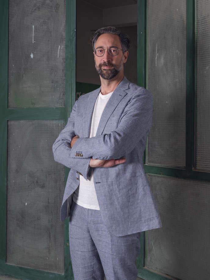 Stefano Stoll,directeur du Festival Images, à Vevey, en Suisse.