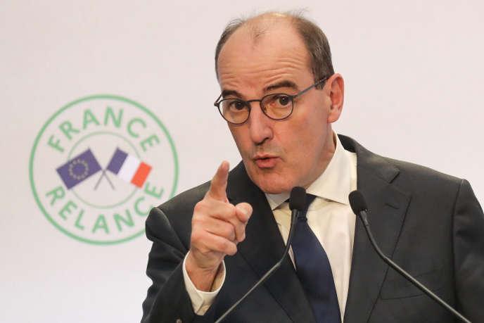 Le premier ministre, Jean Castex, le 3 septembre, à Paris.