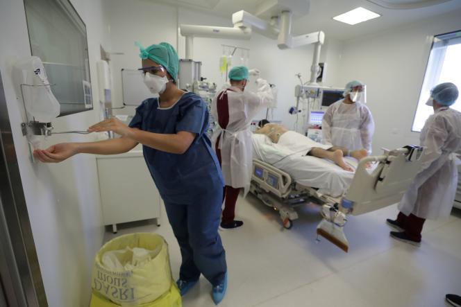 Hôpital Européende Marseille, le 8 septembre.