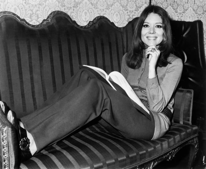 Diana Rigg, en 1970.