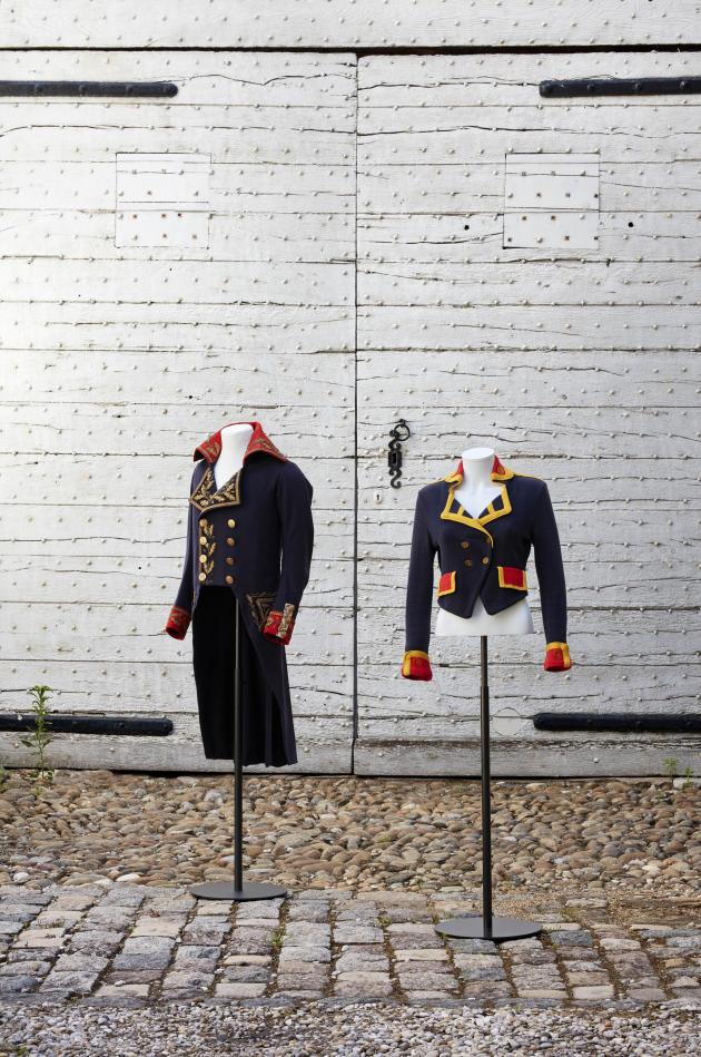 Façon uniforme napoléonien.