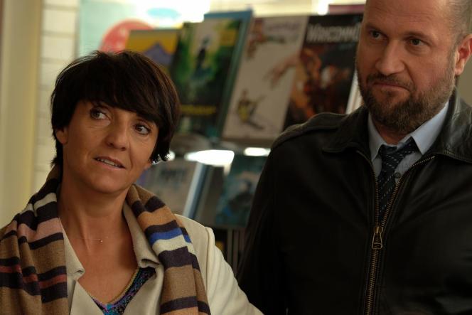 Florence Foresti et François Damiens dans «Le Bonheur des uns...».