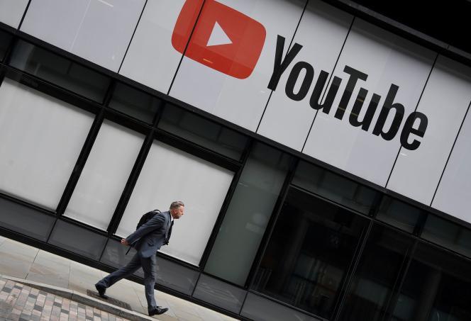 Les bureaux de YouTube à Londres.