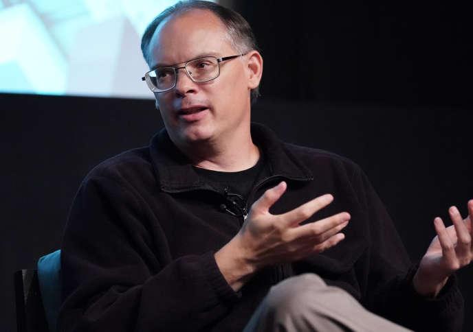 Le patron du studio de jeux vidéo Epic Games, Tim Sweeney, à Hollywood (Californie), le 12 juin 2019.