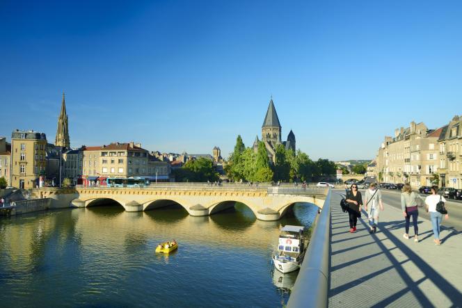 Metz, Moselle.