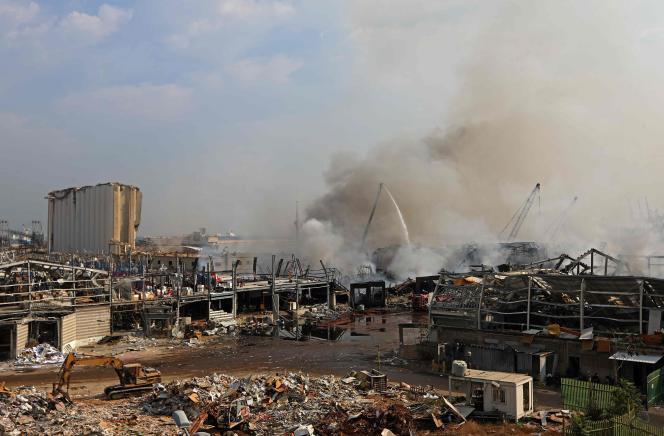A Beyrouth, le 11 septembre.