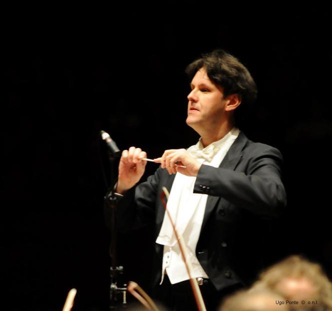 Patrick Davin à l'Orchestre national de Lille.