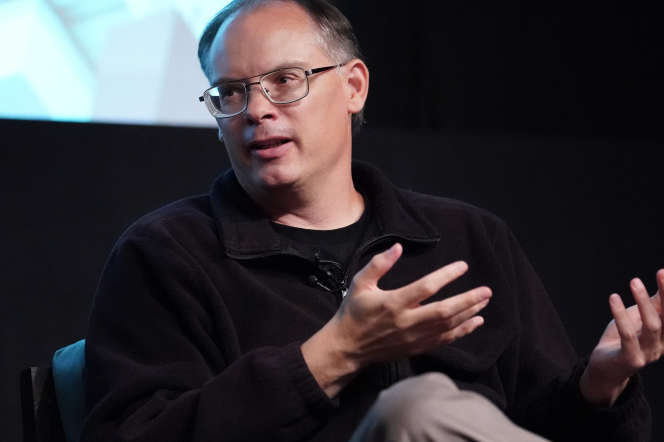 Le patron du studio de jeux vidéo Epic Games, Tim Sweeney, à Hollywood (Californie), le 12 juin 2019.