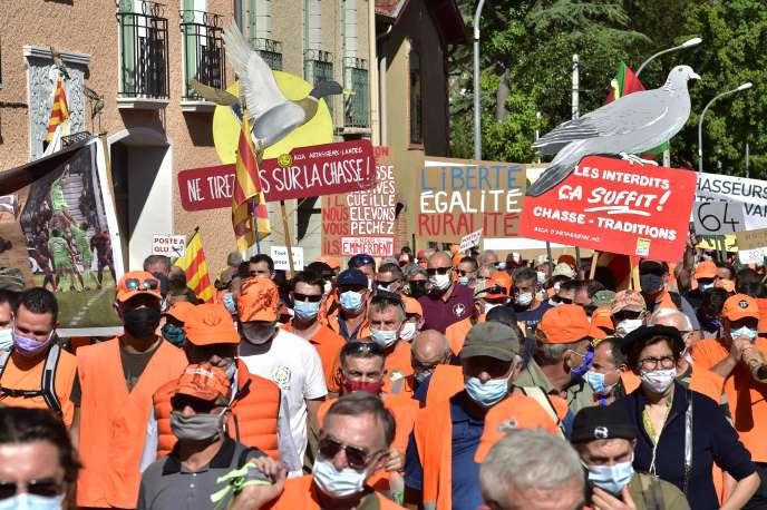 Manifestation à Prades, samedi 12 septembre.