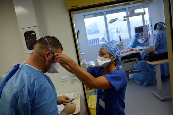 A l'hôpital de La Timone, le 11 septembre à Marseille.