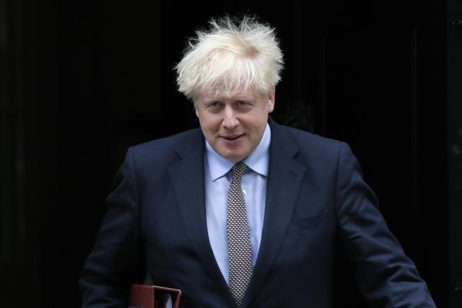 Le premier ministre britannique, Boris Johnson, quitte Downing Street, le 9 septembre 2020 à Londres.