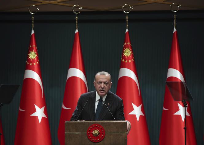 Le président turc, Recep Tayyip Erdogan, le 24 août à Ankara.