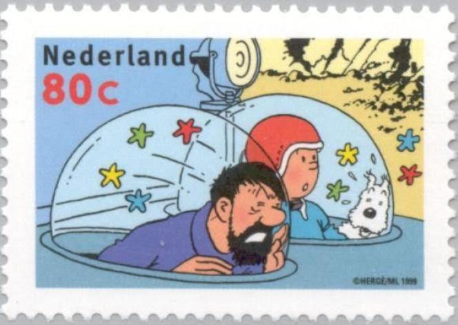 Timbre des Pays-Bas (1999).