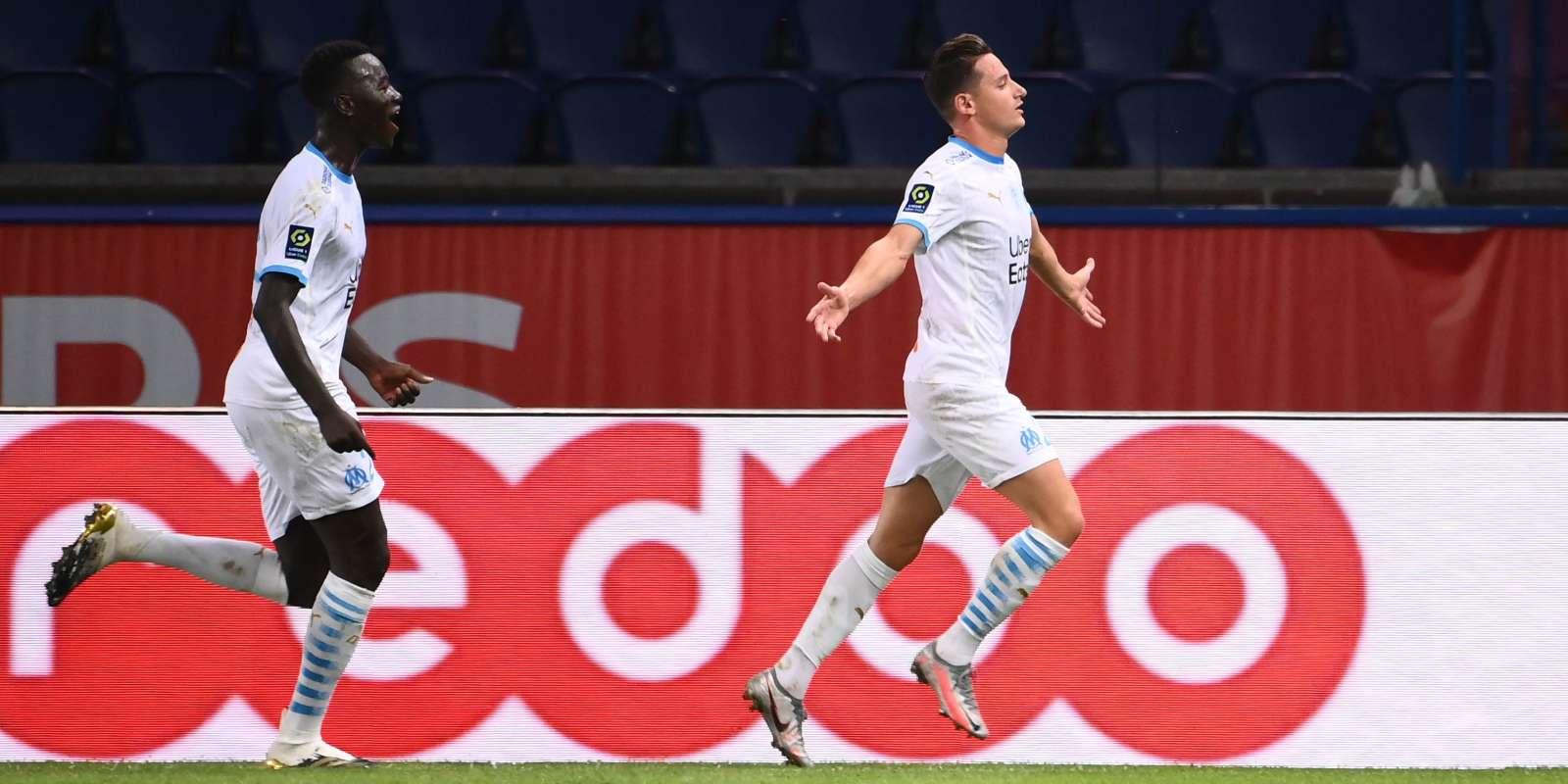 Florian Thauvin a ouvert le score contre le PSG.