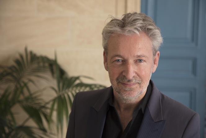 Eric Reinhardt, écrivain, éditeur de livres d'art, auteur du roman «Comédies françaises».