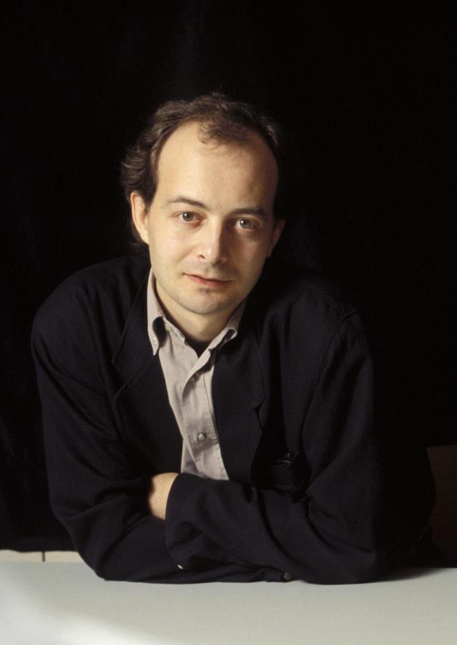 Le sociologue Didier Lapeyronnie, en 1992.