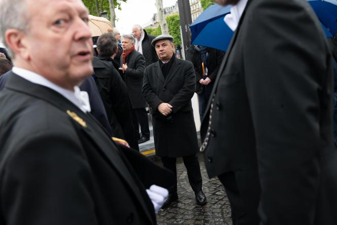 Le conseiller mémoire d'Emmanuel Macron, Bruno Roger-Petit, le 8 mai 2019, à Paris.