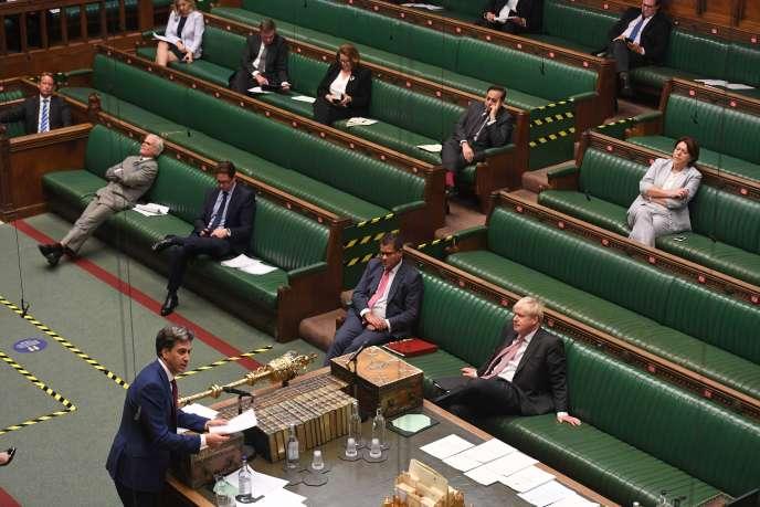 A la Chambre des communes, lors du débat sur la loi sur le marché intérieur, le 14 septembre