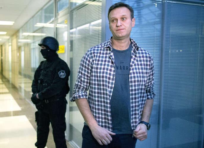 Alexeï Navalny à Moscou, le 26 décembre 2019.