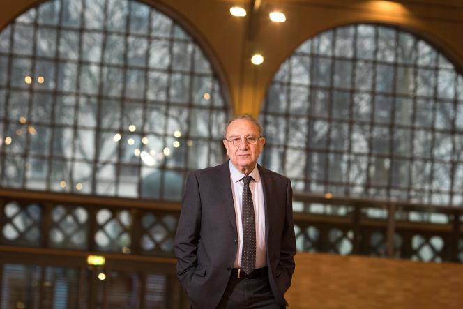 Pierre Aidenbaum, à Paris, en 2014.