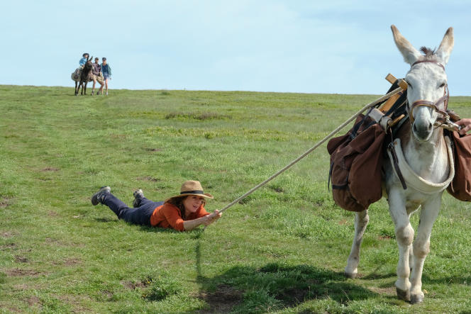 Antoinette dans les Cévennes » : Laure Calamy en duo comique avec un âne