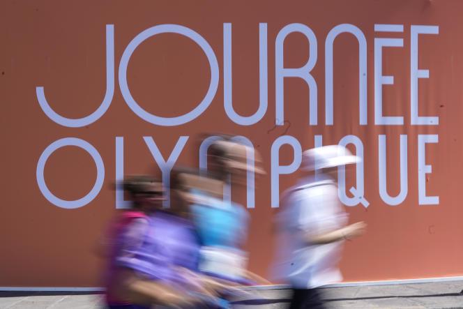 « Journée olympique» le 23 juin 2019, à Paris.