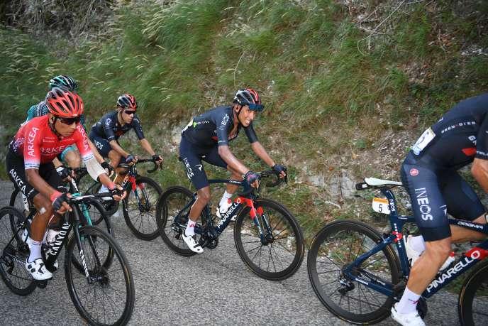 «La vérité, c'est que j'ai perdu le Tour», a constaté Egan Bernal, à l'issue de l'étape arrivant au sommet du Grand Colombier.