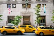 La boutique Tiffany est situéeau numéro727 de la Ve Avenue, à New York.