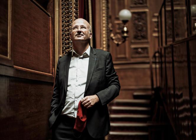 Bernard Jomier, sénateur de Paris, le 14 septembre, au palais du Luxembourg.