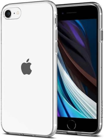 Un étui transparent pour l'iPhone SE (2e génération), 8 ou 7 Liquid Crystal de Spigen