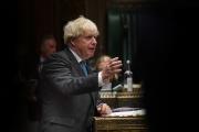 Le premier ministre britannique Boris Johnson, au Parlement, à Londres, le 16 septembre.