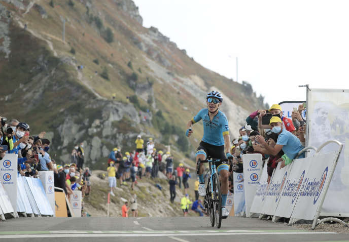 Miguel Angel Lopez restera à jamais le premier vainqueur du Tour de France au col de la Loze.