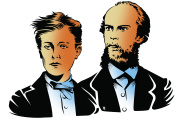 Arthur Rimbaudet Paul Verlaine.