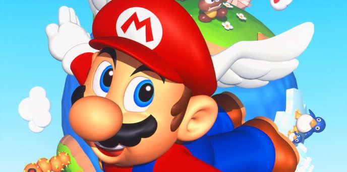 En 1996, avec «Super Mario 64», Mario s'envole.